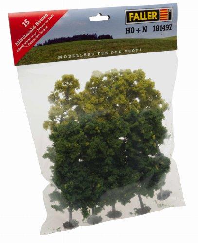 181497 - Faller - Mischwaldbäume ca. 10 cm (15 Stc.)