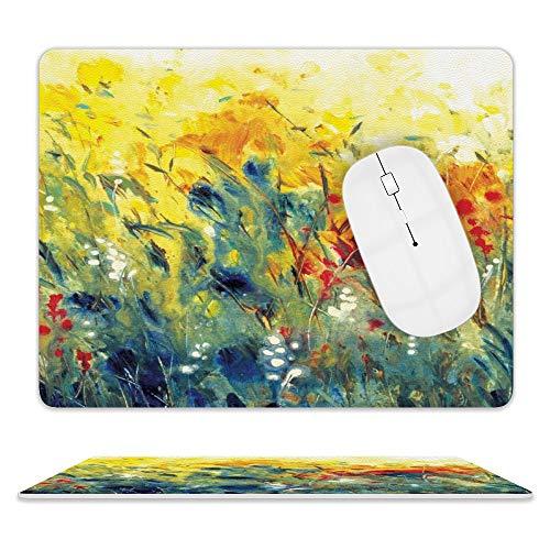 SDIW Alfombrilla de ratón con diseño de pintura al óleo, 2 unidades, de alto rendimiento, optimizada para jugador, talla única