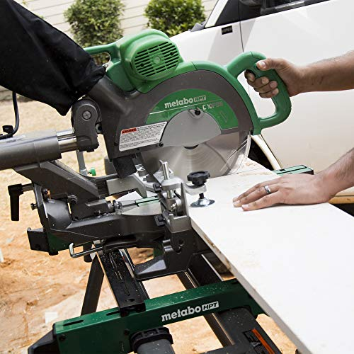"Metabo HPT C10FSBS 10"" Sliding Compound Miter Saw"