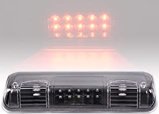 Smoke LED 3rd Brake Lights For Ford F-150 Lobo 04-08 / Ford Explorer Sport Trac 07-10 /Lincoln Mark LT 06-08 Rear Cab Roof Center High Mount Stop Cargo Tail Lamp