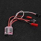 Annjom Elektronische Geschwindigkeitsregelung Funksteuerung Esc-Steuerung Elektronische Geschwindigkeitsregelung, Bremssteuerung, RC-Geschwindigkeitsregler RC-Bootssteuerung RC-Elektronik für
