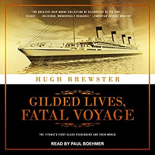 Gilded Lives, Fatal Voyage audiobook cover art