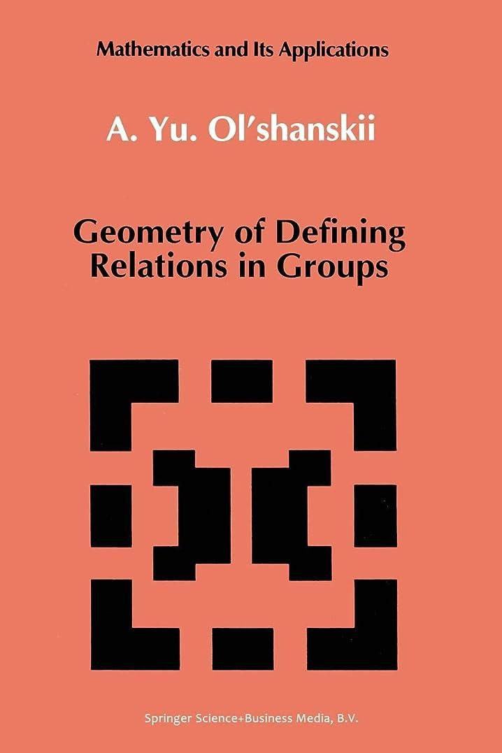 司教批判的政治家のGeometry of Defining Relations in Groups (Mathematics and its Applications)