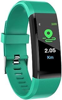 Mmurong Smart Wristband Pantalla A Color Podómetro Sport Fitness Tracker Presión Arterial Frecuencia Cardíaca Actividad Fitness Pulsera Inteligente