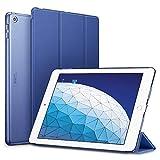 ESR Funda para iPad Air 3ª generación 2019/iPad 2019, Funda Flexible Ligera con Función Automática de Reposo/Actividad, Forro de Microfibra, Funda Trasera Suave para iPad Air 2019 de 10.5'-Azul