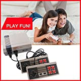 VANVENE Consoles Video Games, Built in 620 Video Games Consoles, (AV Out Cable), Children Gift, Birthday Gift