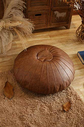 Leather Floor Pillow
