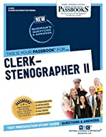 Clerk-stenographer II (Career Examination)