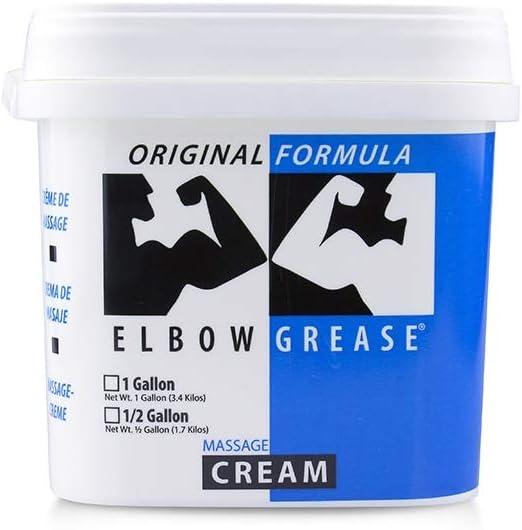 Elbow Grease Max 71% OFF Original Cream Jar 1 Gallon Our shop most popular 2 -