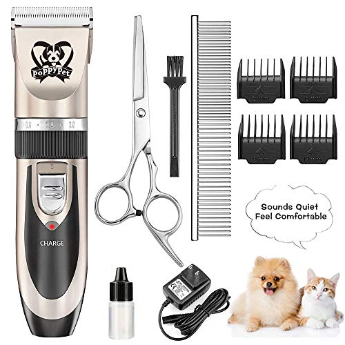 Dog Grooming Clippers Electric Dog Trimmer...