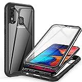 ivencase for Samsung Galaxy A20E Case Clear, 360 Degree