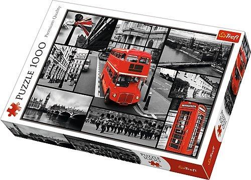 small foot company Puzzle Londres 1000 Piezas