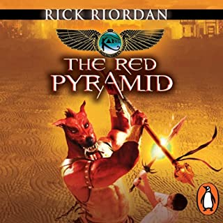 The Red Pyramid: The Kane Chronicles, Book 1 cover art