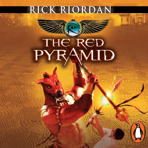 The Red Pyramid: The Kane Chronicles, Book 1 audiobook cover art