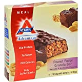 Atkins Advantage Peanut Fudge Granola Meal Bar