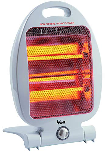 Vigor 97947-10 Japo Stufa al Quarzo, 800 Watt, 400x2 mm