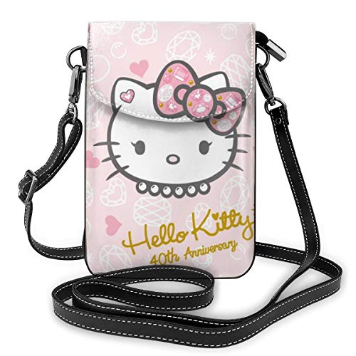 He-Llo Kit-Ty Crossbody Cell Phone Purse Handbag Small...