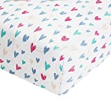 Aden by Aden + Anais Classic Crib Sheet, 100% Cotton Muslin, Super Soft, Breathable, Tailored Snug Fit, Summer...