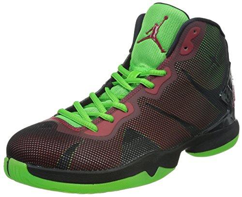 Nike Herren Jordan Superfly 4 Hightop Sneaker, schwarz/grün, 44 EU