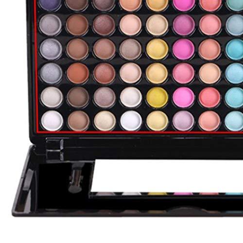 Yeliu Professionelles 88-Farben-Lidschatten-Set mit Spiegelmatter Lidschatten-Palette Nr. 3