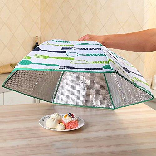 Set mit Pop-Up Große Maschen-Bildschirm-Abdeckung Zelt–hält Fliegen, Käfer, Mosquitos, wiederverwendbar, Farben können variieren