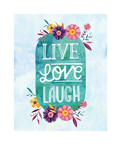 Studio Oh! Becca Cahan Kunstdruck Live Love Laugh