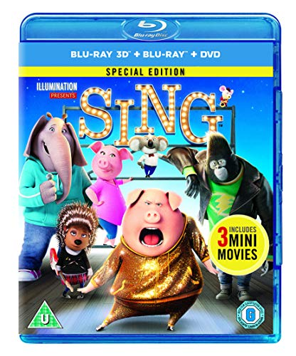 Sing [Blu-ray 3D] [2017]