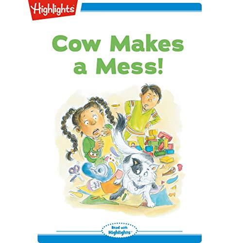 Cow Makes a Mess copertina