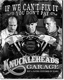 New Knuckleheads Motorcycle Stooges Garage 16