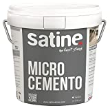 Microcemento Bicomponente Fino Satine 15kg - ENVÍO GRATIS-