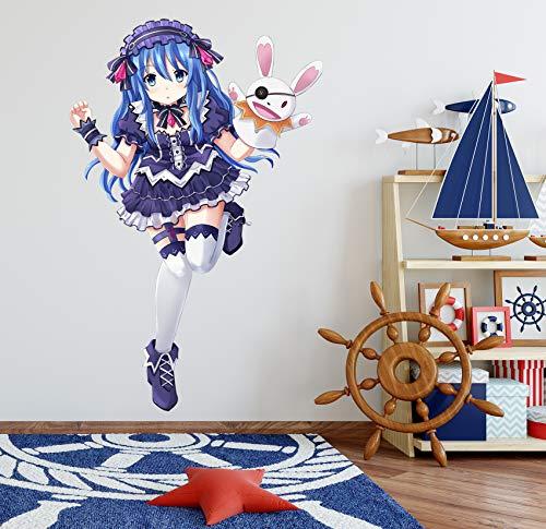 AJ WALLPAPER 3D Date a Live-Yoshino 6 Personaje Juego Papel Tapiz Mural Póster Japonés Animes Pegatina De Pared Papel Tapiz ES Zoe (Lienzo (Durable + Autoadhesivo), L:140cmH(55