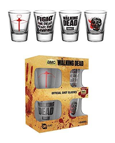 GB eye Ltd GLA0058, Bicchierinos The Walking Dead, 20 ml