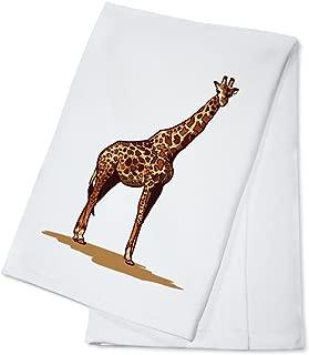 Giraffe - Icon (100% Cotton Kitchen Towel)
