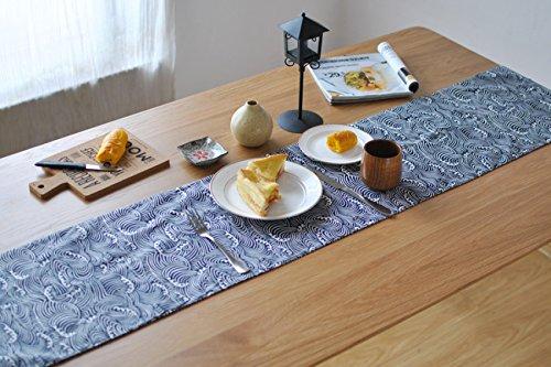 Style Japonais Style De Vent Style Table Drapeau Coton Et Lin Tissu Décoratif Tissu De Cérémonie De Thé,30*200cm