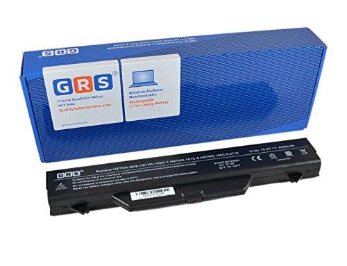 GRS Batería para HP ProBook 4515s 4710s 4710 4510s sustituye a: HSTNN-IB88 HSTNN-LB88 HSTNN-IB89 535753-001 591998-141 HSTNN-OB88 HSTNN-W79C-7 HSTNN-OB89 HSTNN-I60C 4400mAh, 14.4V