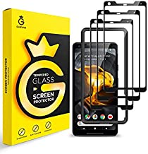 GVIEWIN Designed for Google Pixel 2 XL Screen Protector [3 Pack], Tempered Glass Full Coverage Screen Protection Film with Ultra HD Clarity Case Friendly Bubble Free Clear Screen Film for Pixel 2 XL