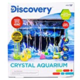 Discovery Crystal Growing Aquarium by Horizon Group USA, Great DIY STEM Science Experiment, Crystal Creations, Multicolored