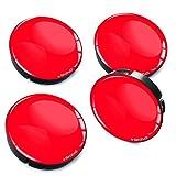 Biomar Labs/® 4 x 60mm Tapas de Rueda de Centro Tapacubos para Coche Color Rosa C 9