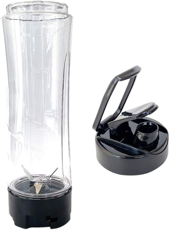 Veterger Replacement Parts Blade with 20oz Cup and Lid,Compatible with Oster BLSTAV BLSTPB My Blend 250-Watt Blender