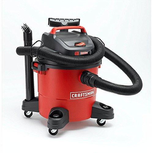 Craftsman 12004 6 gallon 3 peak hp wet/dry vac 2 pack