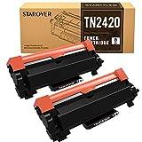STAROVER TN-2420 TN2420 Cartucho Tóner Compatible para Brother...