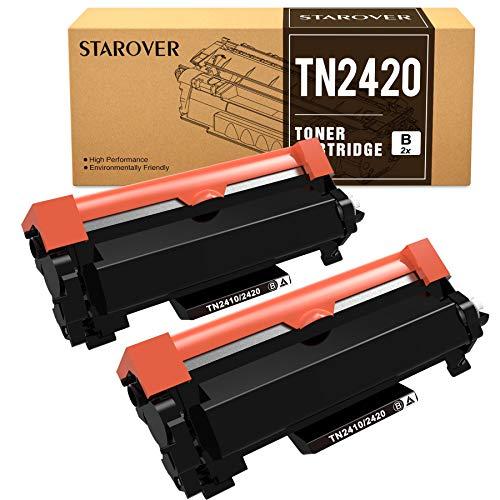 STAROVER Compatibile Cartucce Toner Sostituzione per Brother TN-2420 TN2420 TN2410 per MFC-L2710DN MFC-L2710DW MFC-L2730DW MFC-L2750DW HL-L2350DW L2310D L2370DN L2375DW DCP-L2530DW L2510D L2550DN