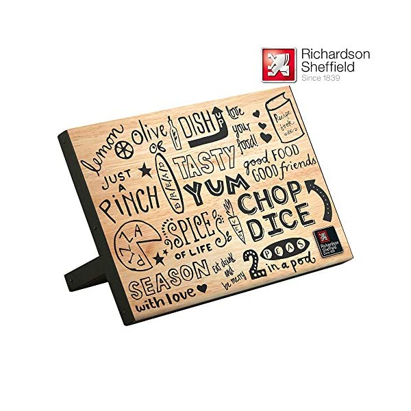RICHARDSON SHEFFIELD - Soporte magnético para Cuchillos (22,2 x 13,5 x 31,5 cm), Color Negro