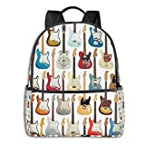 Vintage Fender Guitar Collection Apron Student School Bag School Cycling Leisure Travel Camping Outdoor Backpack
