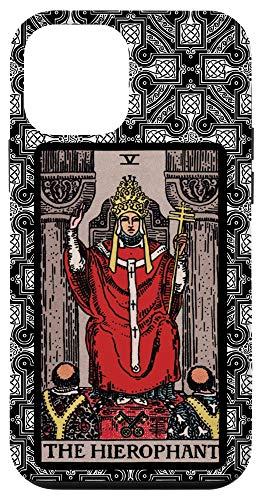 iPhone 12 mini Tarot Card The Hierophant Celtic Cross for Tarot Card Reader Case