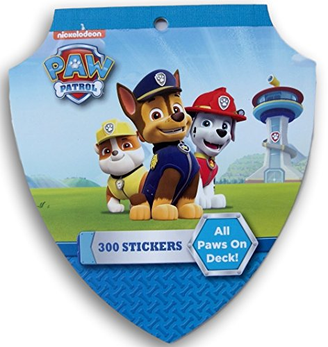 Paw Patrol All Paws on Deck Sticker Pad - 300 Stickers