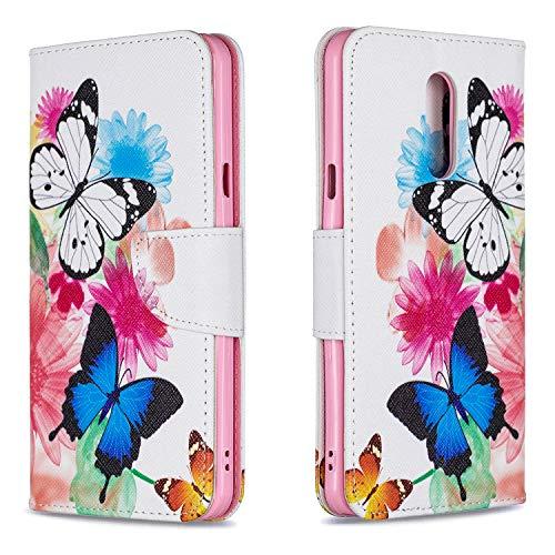 YNAMW Case voor LG STYLO 5 Case Phone Case Flip Case Leather portemonnee Case Cover voor LG STYLO 5 Bag (BCH55)