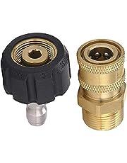 Bopfimer Drukwasser set M22 tot 1/4 inch Quick Connect Kit, M22 14 mm tot 1/4 inch Quick Connect Kit