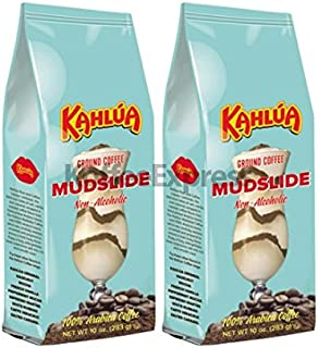 Kahlua - Mudslide Gourmet Ground Coffee (2 bags/10oz each)