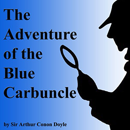 The Adventure of the Blue Carbuncle audiobook cover art